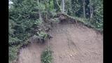PHOTOS: Landslide near Cedar River causes flooding - (10/25)