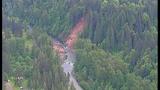 PHOTOS: Landslide near Cedar River causes flooding - (11/25)