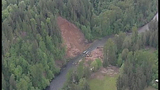 PHOTOS: Landslide near Cedar River causes flooding - (17/25)