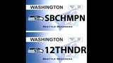 SeattleInsider: Seahawks 12th Man license plates - (15/25)