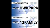 SeattleInsider: Seahawks 12th Man license plates - (20/25)