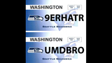 SeattleInsider: Seahawks 12th Man license plates - (10/25)
