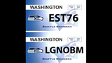 SeattleInsider: Seahawks 12th Man license plates - (19/25)