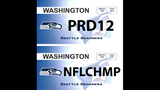SeattleInsider: Seahawks 12th Man license plates - (9/25)