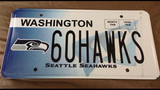 SeattleInsider: Seahawks 12th Man license plates - (1/25)