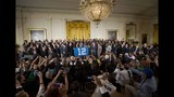 PHOTOS: Super Bowl champs Seahawks visit White House - (10/25)