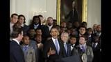 PHOTOS: Super Bowl champs Seahawks visit White House - (21/25)