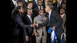 PHOTOS: Super Bowl champs Seahawks visit White House - (17/25)