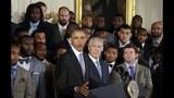 PHOTOS: Super Bowl champs Seahawks visit White House - (11/25)