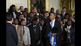 PHOTOS: Super Bowl champs Seahawks visit White House - (2/25)