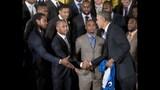 PHOTOS: Super Bowl champs Seahawks visit White House - (7/25)