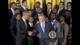 PHOTOS: Super Bowl champs Seahawks visit White House - (5/25)