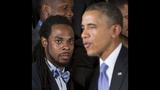 PHOTOS: Super Bowl champs Seahawks visit White House - (4/25)