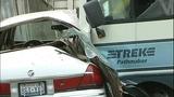 PHOTOS: Man crashes stolen RV into 2 homes, 5 cars - (13/14)