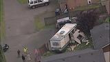 PHOTOS: Man crashes stolen RV into 2 homes, 5 cars - (11/14)