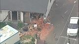 PHOTOS: Man crashes stolen RV into 2 homes, 5 cars - (1/14)