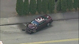 PHOTOS: Man crashes stolen RV into 2 homes, 5 cars - (8/14)