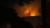 PHOTOS: Apartment complex burns in fierce fire - (10/10)