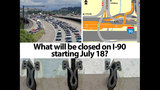 PHOTOS: What will be closed on I-90 starting July 18? - (5/12)