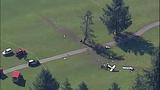 PHOTOS: Pilot killed in golf course plane crash - (15/16)