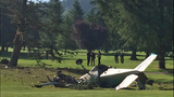 PHOTOS: Pilot killed in golf course plane crash - (1/16)