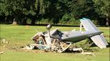PHOTOS: Pilot killed in golf course plane crash - (3/16)
