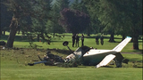 PHOTOS: Pilot killed in golf course plane crash - (10/16)