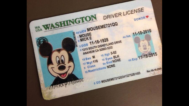 Victims Mickey Identity Mouse Kiro-tv Thief Among Of Bellevue