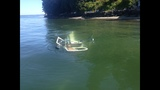 Helicopter lands in shallow water near Kingston; Occupants safely escape_5728449