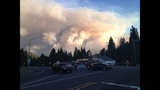 New wildfire prompts hundreds of evacuations, shuts down state highway_5744198