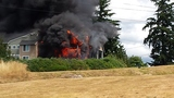 PHOTOS: Crews battle Renton apartment fire - (5/22)