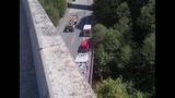 PHOTOS: Motorcyclist flies off ramp, into… - (2/7)