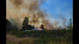 PHOTOS: Crews battle brush fire near Roy at JBLM - (9/10)