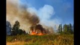 PHOTOS: Crews battle brush fire near Roy at JBLM - (4/10)