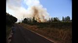 PHOTOS: Crews battle brush fire near Roy at JBLM - (7/10)