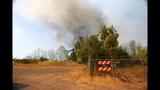 PHOTOS: Crews battle brush fire near Roy at JBLM - (10/10)