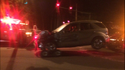 A third person in one of those vehicles has been hospitalized in critical condition.