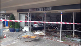 PHOTOS: SUV crashes into building in Columbia city - (8/11)