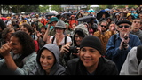 PHOTOS: Fans watch in rain at Bumbershoot 2014 - (10/12)