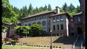 The Old Main building at Western Washington University.