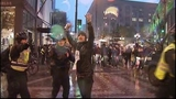 Seattle police use pepper spray to disperse Ferguson protesters; 5 arrested _6470647