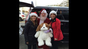 Michelle Millman and Alexis Smith at KIRO 7 after Toys For Tots MobileTweetup.