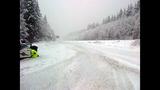 PHOTOS: Snow closes mountain passes Monday morning - (7/16)