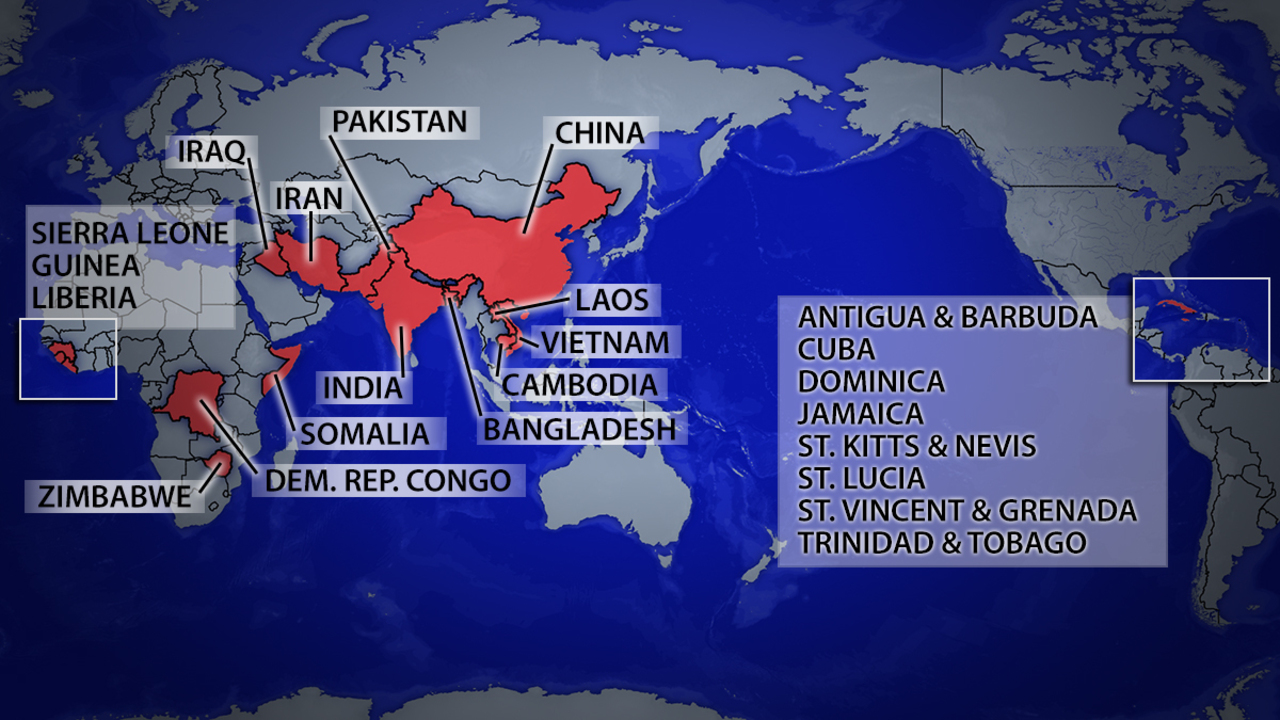 Map countries that refuse or delay deportation of felons kiro tv gumiabroncs Images