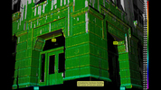 Schwabacher Hardware Building, SW Corner of First and Jackson. Green illustrates minimal change and blue illustrates substantial change.Read the full story here.