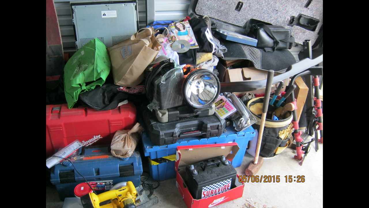 PHOTOS: Stolen Property Recovered From Key Peninsula Storage Units   (1/5)