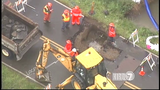 Sinkhole cuts off public access to Everett Animal Shelter  _7260115