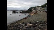 Kayaktivists protested against Arctic drilling -- from the waters of Seattle.