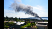 A fire at Narrows Marina occurred on Saturday evening. Smoke was visible for miles. Visit the story for more information.