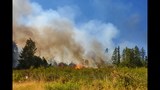PHOTOS: Crews battle brush fire near Roy at JBLM - (8/10)